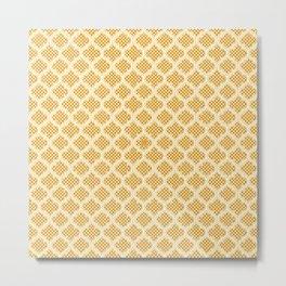 Harem Window (Amber Gold) Metal Print