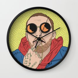 Mac Miller Wall Clock