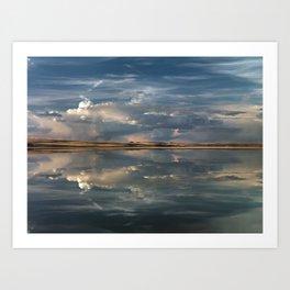 Lake Abert Art Print