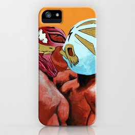 Lucha de Amor iPhone Case