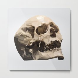 Study No. 3 - The Skull Metal Print