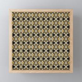 Deco Inspired Pattern Framed Mini Art Print