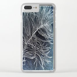 Palm Leaf Earth Day and Easter Clear iPhone Case