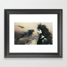 The Last Neuroapache Framed Art Print