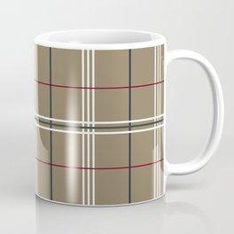 Dark Elm Plaid Coffee Mug