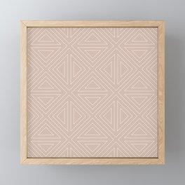 Angled Nude Framed Mini Art Print