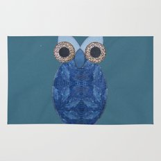 The Denim Owl #02 Rug