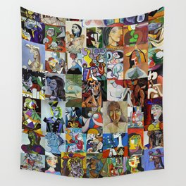 Pablo Picasso Wall Tapestry
