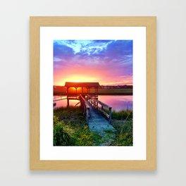Litchfield Sunset Framed Art Print