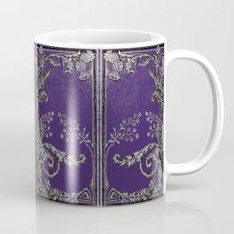 Blue and Silver Thistles Coffee Mug