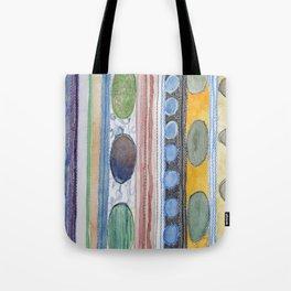 Serene Stripes Tote Bag