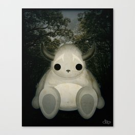 Big Forest Monster Canvas Print