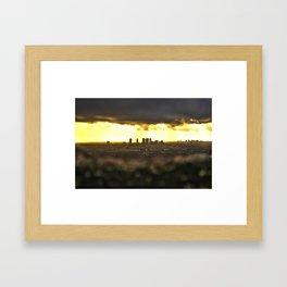Los Anjelos Framed Art Print