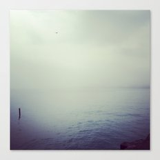 Lake Michigan Fog Canvas Print