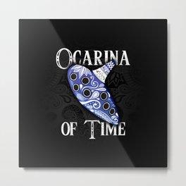 Ocarina Of Time - Zelda Metal Print