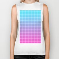 gradient Biker Tanks featuring Gradient by aesthetically