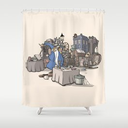 Collection of Curiosities Shower Curtain