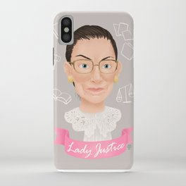Lady Justice iPhone Case