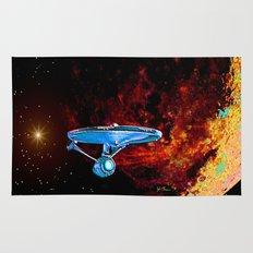 Enterprise NCC 1701A Rug
