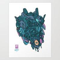 Midnight by 12FV Art Print