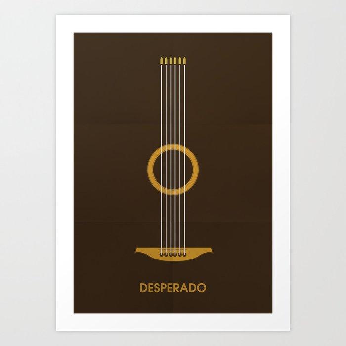 Desperado Minimalist Poster Art Print