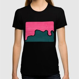 London Abstract Pink T-shirt