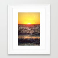 infinite Framed Art Prints featuring Infinite by Oh, Good Gracious!
