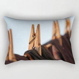 Washing line Rectangular Pillow