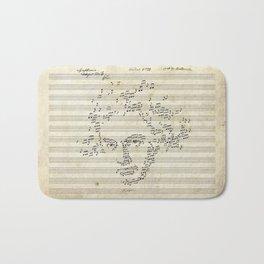 Beethoven Bath Mat