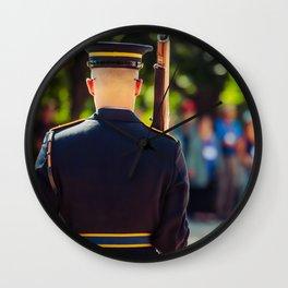 Old Guard 1 Wall Clock