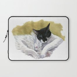 Snuggling cats Laptop Sleeve