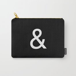 Ampersand: Helvetica Carry-All Pouch