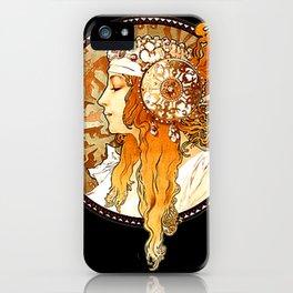 Art Nouveau Cameo No. 2 iPhone Case