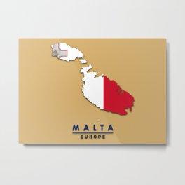 Malta - Europe Metal Print
