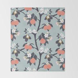 MAMA ROSA GARDEN - BIRD Throw Blanket