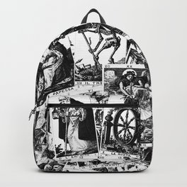 Tarot cards pattern Backpack