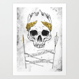 True King Art Print