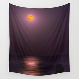 Full Moon High Wall Tapestry