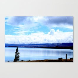 Lakeside Afternoon Canvas Print