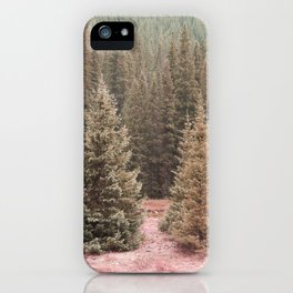 Look For Me In The Trees iPhone Case