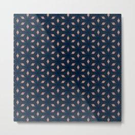 V29 Moroccan Traditional Carpet and Rug Design. Metal Print