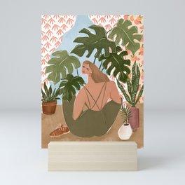 Bringing the outside in Mini Art Print