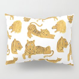 Tiger, Lion, Cheetah Pillow Sham