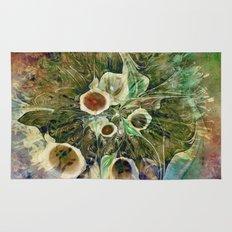 Fractal Bouquet - color variation Rug