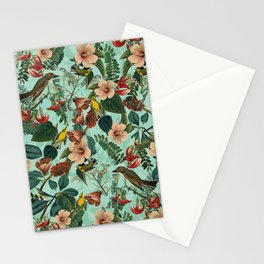 FLORAL AND BIRDS XIII Stationery Cards