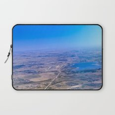 Superman's perspective Laptop Sleeve