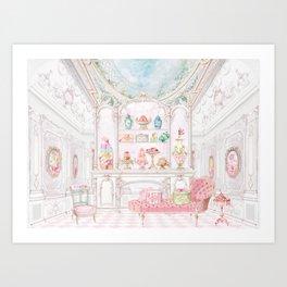 French Patisserie  Art Print