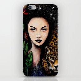 Fierce Beauty iPhone Skin
