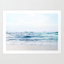Calm Waves Art Print