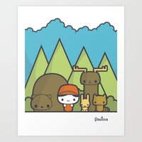 Our Forest Art Print